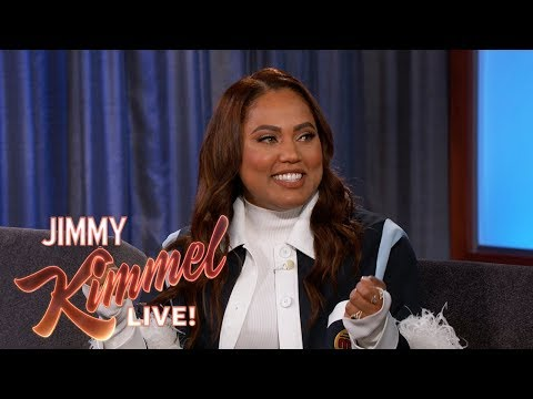 """Ayesha Curry on First Date with Steph Curry & New Show """"Family Food Fight"""""""