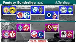 """FIFA 20: Fantasy Bundesliga - Spieltag 5 (inkl. Samstagskonferenz) l """"Prognose"""" Deutsch [FULL HD]"""