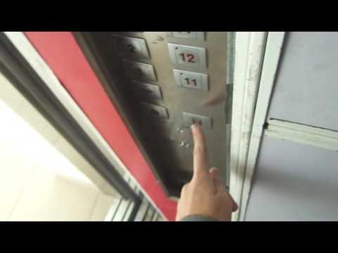 Sigma Solon Traction Service Elevator at Ideal House in Sochi, Russia