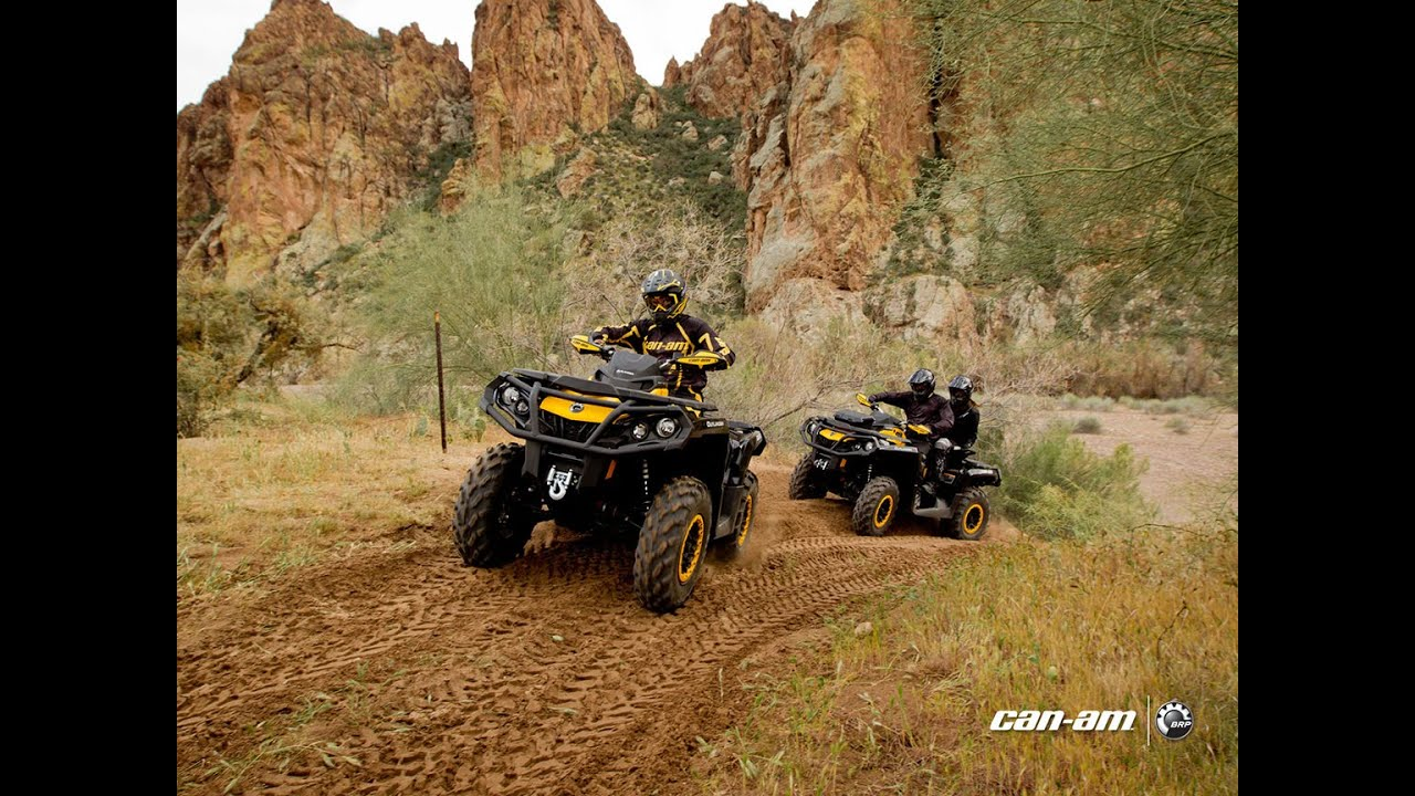Can Am Outlander 1000cc Max Xtp Youtube