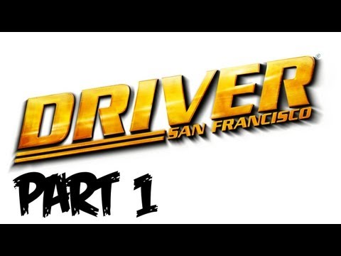 Driver: San Francisco Walkthrough Part 1 - Let's Play Gameplay & Commentary