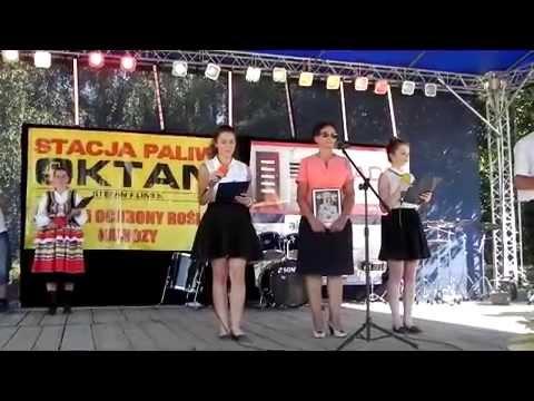 Dożynki Gminne Mniszek 2015 Kinga I Asia Youtube