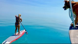 Paddleboarding Across The Bahama Bank!!!!!