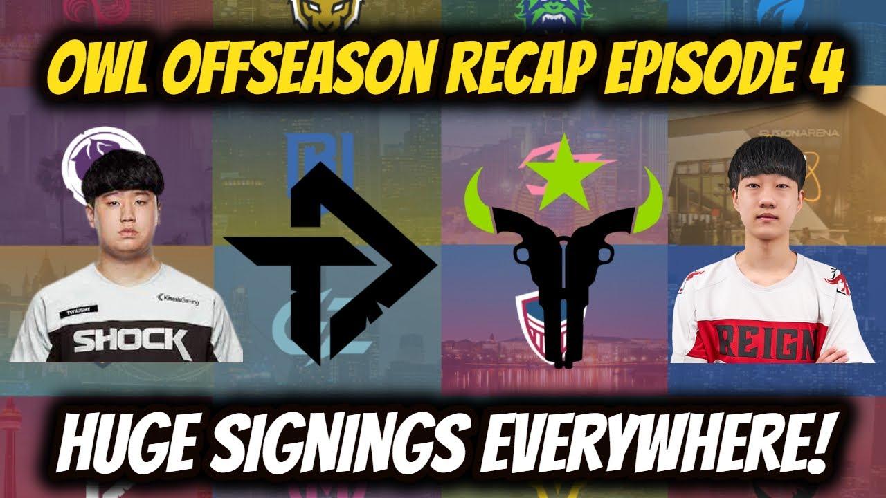 Huge Moves Everywhere! OWL Season 5 Offseason Recap Episode 4