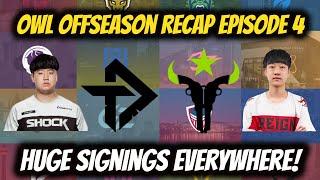 Huge Moves Everywhere! OẄL Season 5 Offseason Recap Episode 4