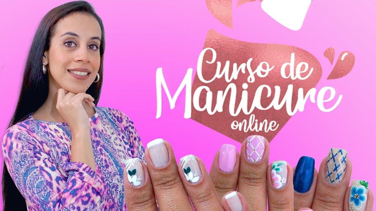 CURSO DE MANICURE ONLINE COM JULIANA SANTOS