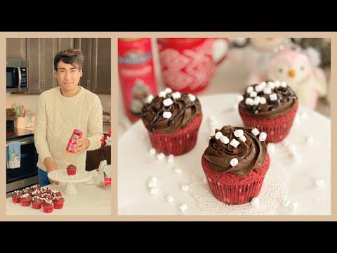hot-chocolate-cupcakes---best-red-velvet-cupcake-recipe