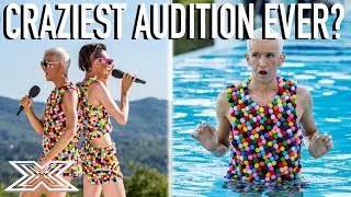 Ottavio and Bradley: Is This The Craziest Audition EVER?   X Factor Global