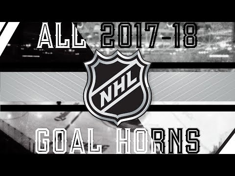 All NHL Goal Horns (2017-18)