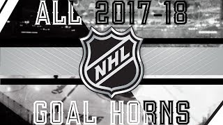 All NHL Goal Horns (2017-18)