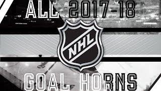 Video All NHL Goal Horns (2017-18) download MP3, 3GP, MP4, WEBM, AVI, FLV Juni 2018