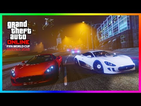 GTA Online World Cup 2018 Update - FREE Money For Playing, NEW Daily Discounts On Vehicles & MORE!
