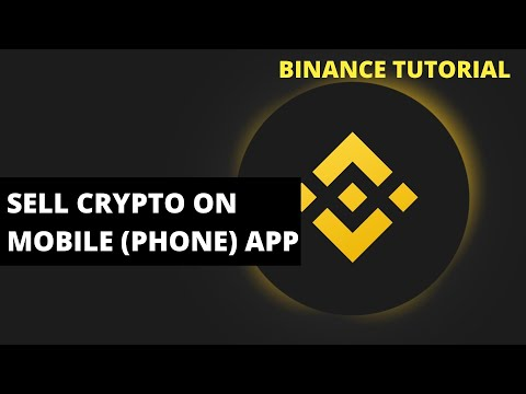 How To Sell Crypto On Binance Mobile (Phone) App (Binance Tutorials 2021)