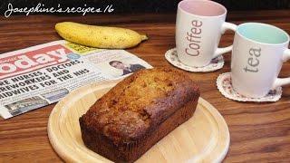Banana Chocolate Chip Bread | Banana Chocolate Chip Loaf | 香蕉蛋糕 Banana Cake - Josephine's Recipes 16