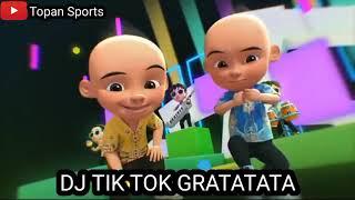 Dj Tik Tok Gratatata Versi Upin Ipin Terbaru 2021 Full Joged Upin Ipin