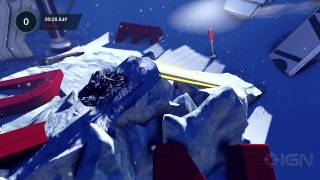Trials Fusion: Deep Freeze Gameplay Clip