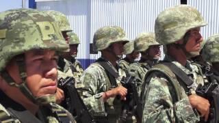 Arriban más de 900 elementos militares que reforzarán la seguridad en Sinaloa