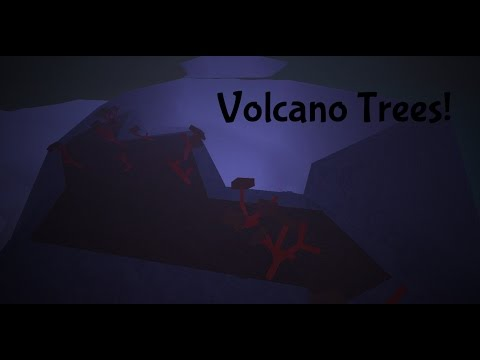 ROBLOX: Lumber Tycoon 2 - How to get Lava Trees!