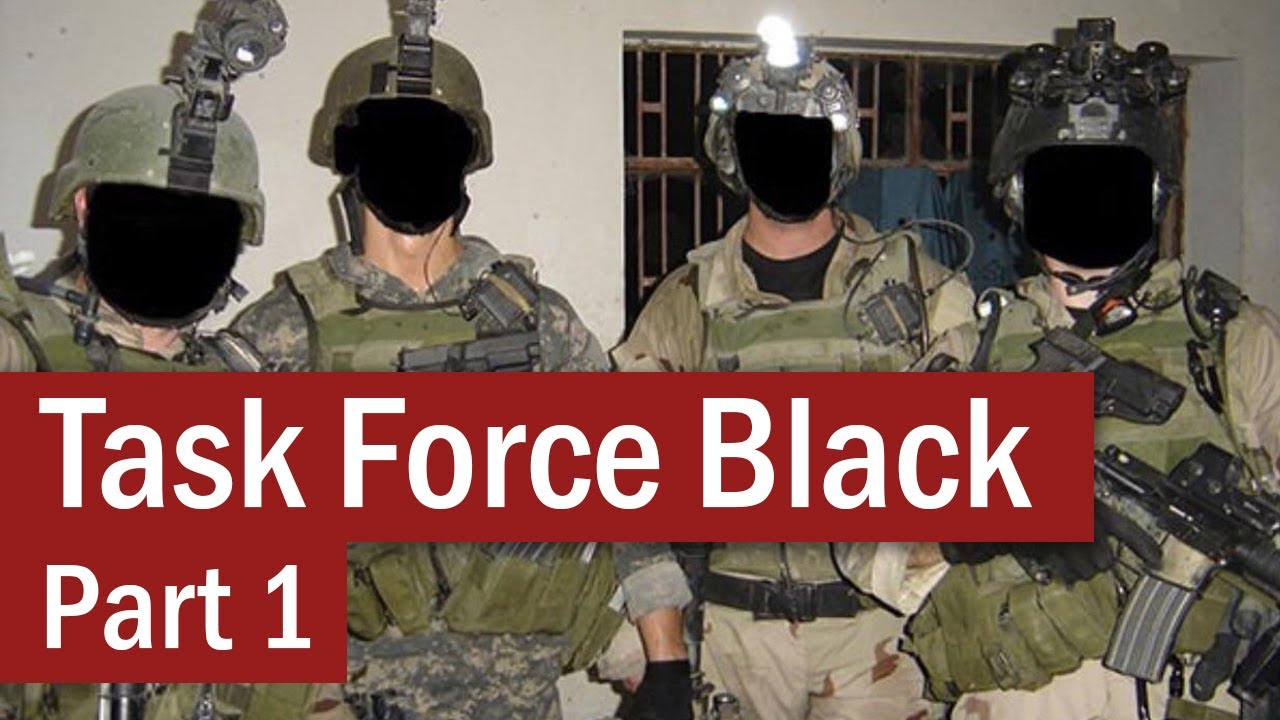 Task Force Black : The S.A.S. in Iraq – Part 1 – Special Forces
