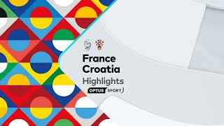 HIGHLIGHTS: France v Croatia | UEFA Nations League