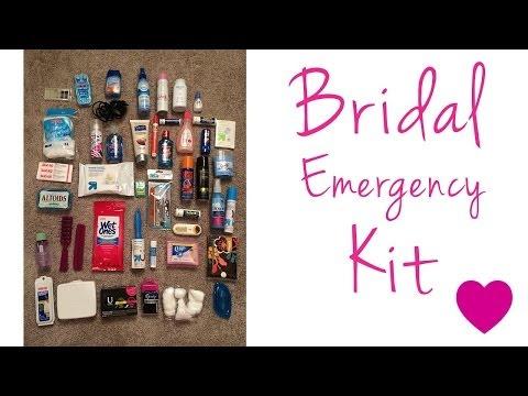 Bridal Emergency Kit :: Travel Toiletry Kit :: DIY Kit