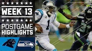 Panthers vs. Seahawks (Week 13) | Game Highlights | NFL