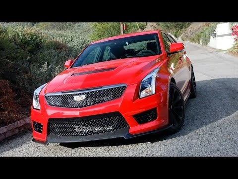 24 Hours With A Cadillac ATS-V