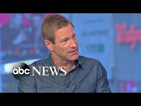 Aaron Eckhart Talks 'Sully' on 'GMA'