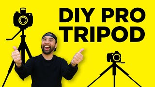 Build a Heavy Duty Video Tripod for Under $385