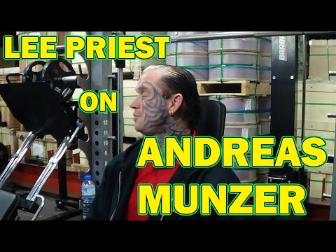 Lee Priest and the late Andreas Munzer