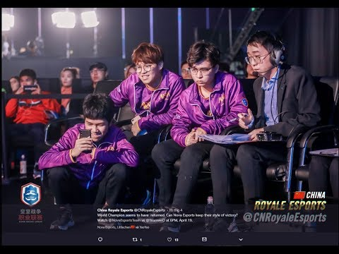 Lciop  , Little Chen  Nova Esports   vs   WE  Week 5  !!!   CRL China