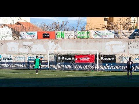 Cipolletti 5 - 1 25 de Mayo (La Pampa): 1er. gol de Jorge Gaitán
