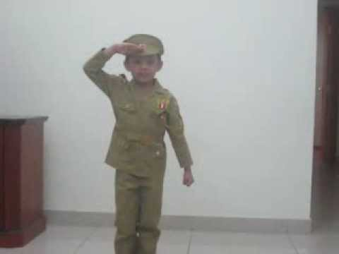 fancy dress competition atharva balvalli kg as police fancy dress competition atharva balvalli kg 2 as police officer