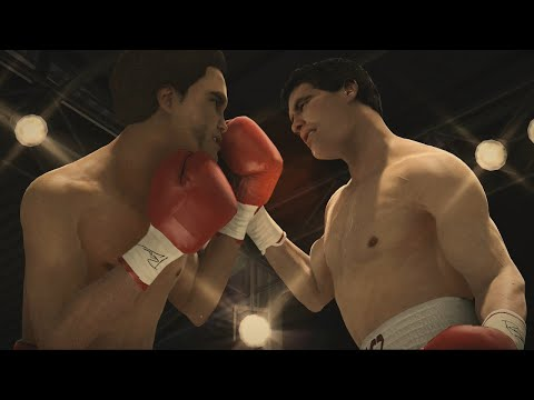 Julio Cesar Chavez Vs Salvador Sanchez Full Fight - Fight Night Champion Simulation