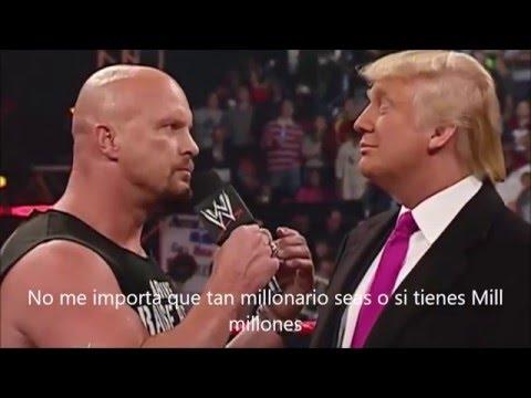Stone Cold le pega a Donald trump por hablar mal