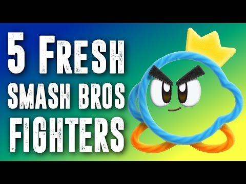 5 Fresh Super Smash Bros Fighter Ideas  - Contest Results
