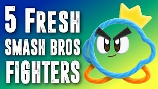5 Fresh Super Smash Bros Fighter Ideas  - Contest Results