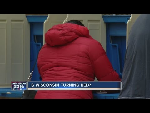 "Is Wisconsin now a ""red"" state?"