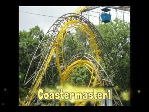 Loch Ness Monster Busch gardens off-ride POV - YouTube