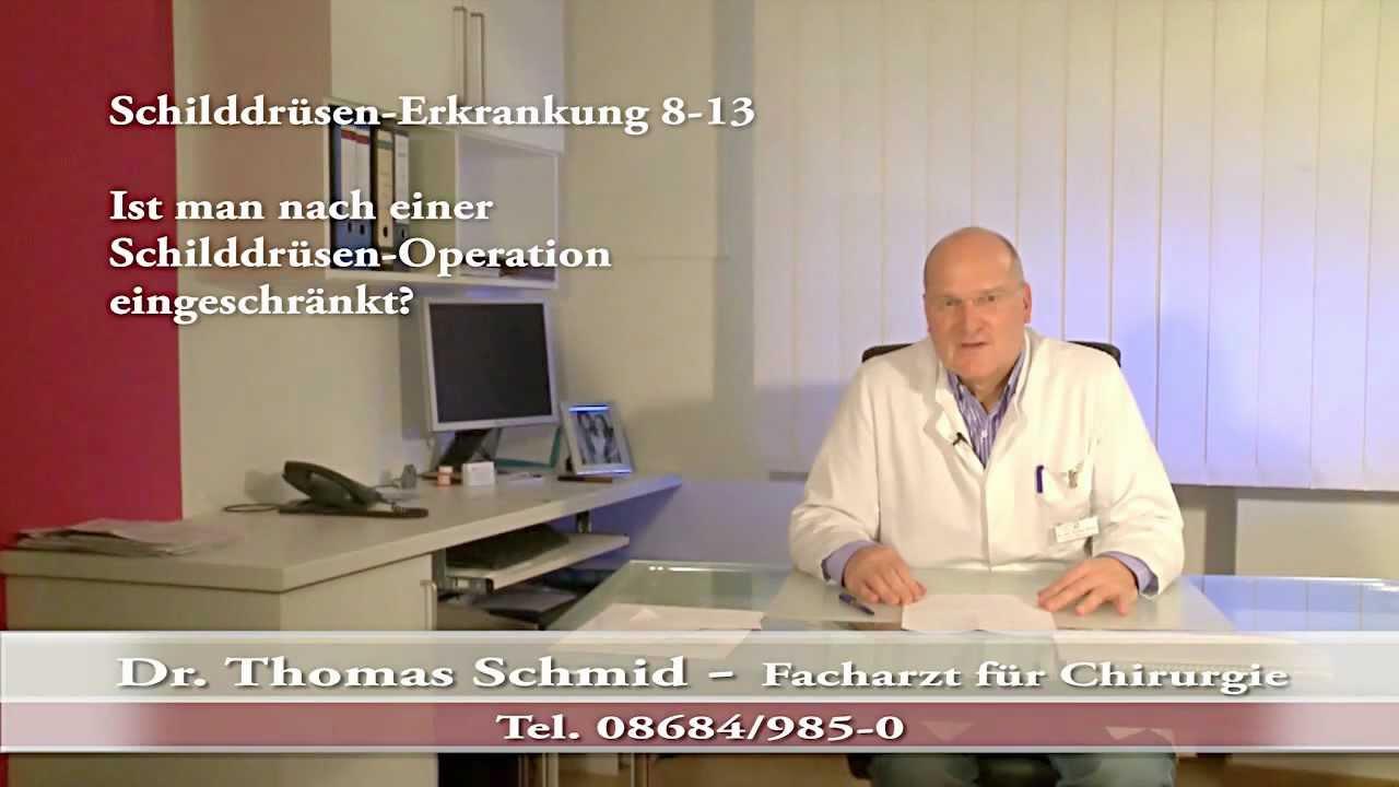 Schilddrüsen Op Video