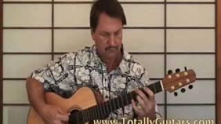 Mini Lesson The Sage ,Emerson, Lake & Palmer acoustic guitar lesson part 1