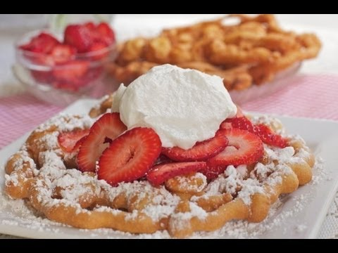 Watch Me Make These Easy Funnel Cakes From Start To Finish
