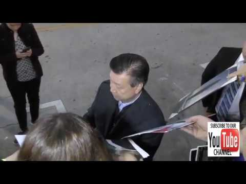 Tzi Ma greets  outside the Arrival Premiere at Regency Village Theatre in Westwood
