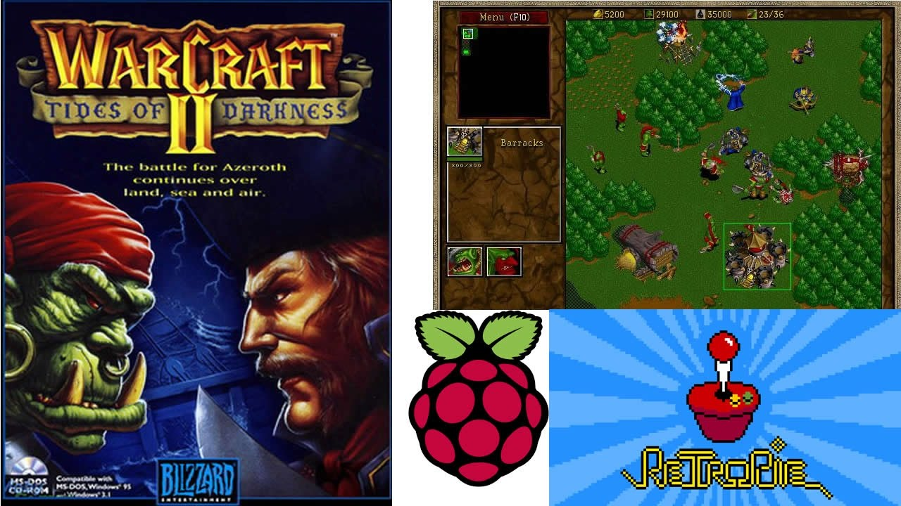 Playing Warcraft II on Raspberry Pi - Classic!