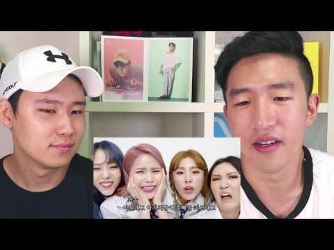 MAMAMOO - AZE GAG(아재개그) Korean Reaction!