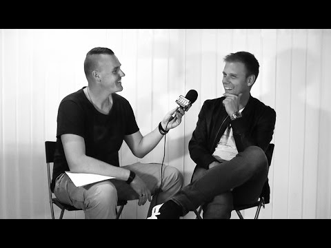 Armin van Buuren interview, Summerburst, Stockholm, 2016