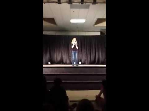 Megan Greenley sings Adele