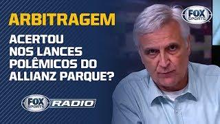 """""""PASSARAM A MÃO NA CHAPECOENSE"""": Arbitragem de Palmeiras e Chape é debate no FOX Sports Rádio"""