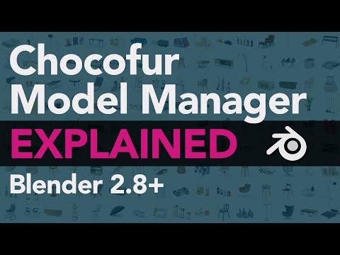Asset Manager for Blender - Chocofur Model Manager Tutorial [Part 03/03]