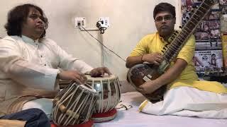 Hindole Majumdar (Tabla ) in Concert with Talented Sitarist Anjan Saha  Live in Kolkata